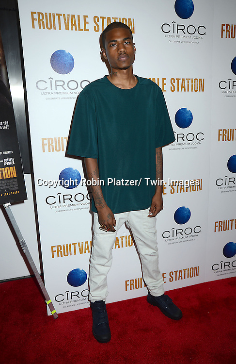 Dominic Ford attends the Special Screening of &quot;Fruitvale Station&quot; on July 8, 2013 at MOMA in New York City. The movie stars<br /> Michael B Jordan, Octavia Spencer and Melonie Diaz and was directed by Ryan Coogler