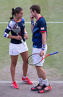 Andy Murray, Laura Robson..Tennis - OLympic Games -Olympic Tennis -  London 2012 -  Wimbledon - AELTC - The All England Club - London - Thursday 2nd August  2012. .© AMN Images, 30, Cleveland Street, London, W1T 4JD.Tel - +44 20 7907 6387.mfrey@advantagemedianet.com.www.amnimages.photoshelter.com.www.advantagemedianet.com.www.tennishead.net
