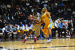 "Ole Miss' Reginald Buckner (23) vs. McNeese State's Jordan Wells (13) at the C.M. ""Tad"" Smith Coliseum in Oxford, Miss. on Tuesday, November 20, 2012. .."