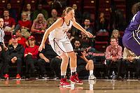 Stanford, CA, January 29, 2016<br /> Stanford Women's Basketball vs University of Washington at Maples  Pavilion. Stanford won 69-53.