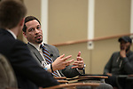 ESPN Sports Reporter Chris Brousssard reflected on his college experience as an english major, a man of faith, and how these aspects benefitted him during his career sports journalism.