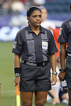 26 October 2014: Assistant referee Emperatriz Ayala (SLV). The United States Women's National Team played the Costa Rica Women's National Team at PPL Park in Chester, Pennsylvania in the 2014 CONCACAF Women's Championship championship game. By advancing to the final, both teams have qualified for next year's Women's World Cup in Canada. The United States won the game 6-0.