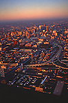 City Center Aerial, Independence National Historical Park, Delaware River, Philadelphia, PA,