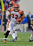 4 November 2007: Cincinnati Bengals running back Kenny Watson rushes for yardage against the Buffalo Bills at Ralph Wilson Stadium in Orchard Park, NY. The Bills defeated the Bengals 33-21 in front of a sellout crowd of 70,745...Mandatory Photo Credit: Ed Wolfstein Photo