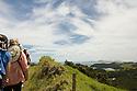 Hike on Urupukapuka Island where Zane Grey had a fishing base.  Bay of Islands, New Zealand