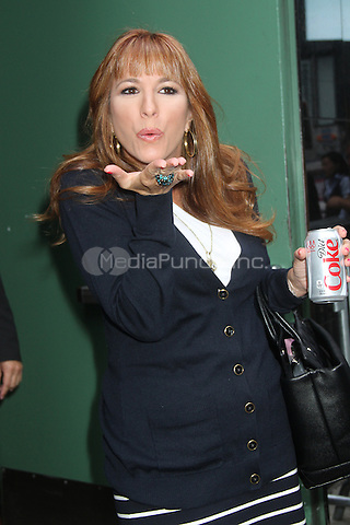 NEW YORK CITY, NY - August 01, 2012: Jill Zarin at Good Afternoon America in New York City. © RW/MediaPunch Inc.