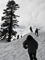 snowmobiling and northstar in tahoe, california