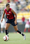 Shannon Boxx, of the United States, on Saturday, October 23rd, 2005 at Blackbaud Stadium in Charleston, South Carolina. The United States Women's National Team defeated Mexico 3-0 in an international women's friendly soccer match.