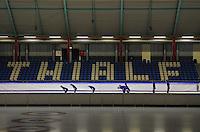 SCHAATSEN: HEERENVEEN: 15-09-2014, IJsstadion Thialf, Topsporttraining, ©foto Martin de Jong