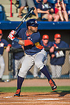 10 March 2014: Houston Astros infielder Jonathan Villar in action during a Spring Training game against the Washington Nationals at Space Coast Stadium in Viera, Florida. The Astros defeated the Nationals 7-4 in Grapefruit League play. Mandatory Credit: Ed Wolfstein Photo *** RAW (NEF) Image File Available ***