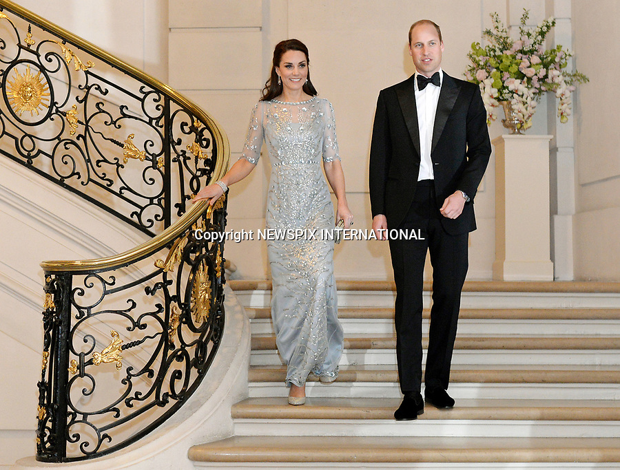 Duke & Duchess Of Cambridge Embassy Dinner