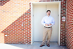 Shawn McNulty, Ph.D., is the Assistant Biosafety Officer for the Risk Management and Safety Department at Auburn University in Alabama. He poses for a portrait at the school in Auburn, Alabama November 18, 2009.