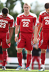 27 November 2011: Indiana's Caleb Konstanski (22) The University of North Carolina Tar Heels defeated the Indiana University Hoosiers 1-0 in overtime at Fetzer Field in Chapel Hill, North Carolina in an NCAA Men's Soccer Tournament third round game.