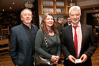 Paul & Anita Ludlow of Pumphouse, with Gateley's Rob Metcalfe