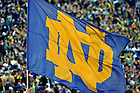 Nov. 17, 2012; The ND flag