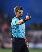FUSSBALL CHAMPIONS LEAGUE  SAISON 2015/2016 VIERTELFINAL RUECKSPIEL Atletico Madrid - FC Barcelona       13.04.2016 Schiedsrichter Nicola Rizzoli (Italien)