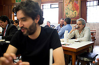 Cantina Niza with Annuska, Leon, Jorge and Guillermo Zapata.  Mexico City