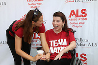 LOS ANGELES, CA - OCTOBER 16: Jennifer Garner, Nanci Ryder at the ALS Association Golden West Chapter Los Angeles County Walk To Defeat ALS at Exposition Park in Los Angeles, CA on October 16, 2016. Credit: David Edwards/MediaPunch