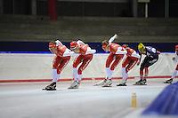 SCHAATSEN: IJSSTADION THIALF: 03-07-2013, Training zomerijs, Team Corendon, ©foto Martin de Jong