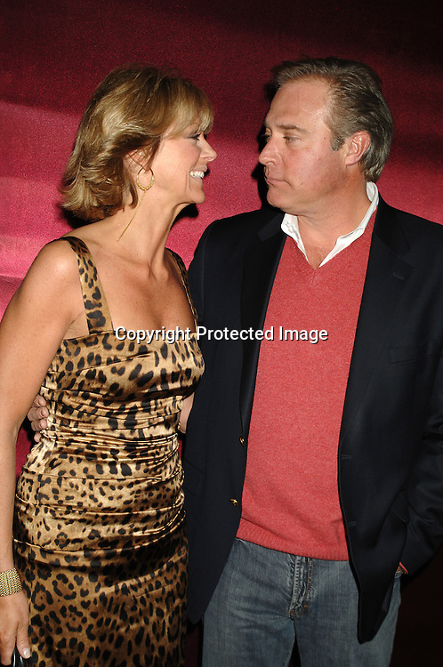 Denise and John James..at The All My Children Christmas party on December 8, 2006 at The ABC Studio...Robin Platzer, Twin Images