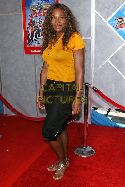 "24 July 2005 - Hollywood, CA - Serena Williams. World premiere of ""Sky High"" held at The El Capitan Theatre..Photo credit: Jacqui Wong/AdMedia"