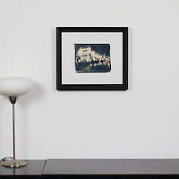 "D'Amore: ""Le Consulat"", Digital Print, Image Dims. 7.5"" x 10"", Framed Dims. 16.25"" x 18.5"" , film art"