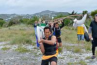 Hutt Secondary Schools Junior Waka ama Sprint Competition at Hoikoikoi, Lower Hutt, New Zealand on Saturday 17th November 2012<br /> Photo by Masanori Udagawa<br /> www.photowellington.com