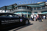 A general view outside the stadium.The Clash, Aviva Premiership match, between Bath Rugby and Leicester Tigers on April 8, 2017 at Twickenham Stadium in London, England. Photo by: Rogan Thomson / JMP for Onside Images
