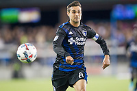 Santa Clara, CA - Saturday April 8, 2017: The San Jose Earthquakes tied 1-1 with the Seattle Sounders FC in a Major League Soccer (MLS) game at Avaya Stadium.