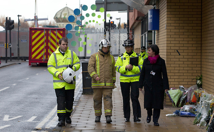 Deputy Chief Constable of Police Scotland, Rose Fitzpatrick - Joint aircraft recovery take the police helicopter away which crashed into a busy Glasgow pub killing at least nine people.<br /> The wreckage of the Police Scotland aircraft was winched from The Clutha, where it came down at 22:25 on Friday.<br /> Police Scotland have said they cannot rule out finding more bodies.<br /> The three helicopter crew died in the incident along with six people inside the pub. Police have released the names of five of the victims. Efforts to identify other fatalities continue.<br /> Samuel McGhee, 56, of Glasgow, is the second of six people who died in the bar to be named. The three helicopter crew members were named on Sunday. <br /> Picture: Maurice McDonald/Universal News And Sport (Europe) 2 December  2013