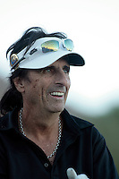 24 January 2009: Celebrity golfer Alice Cooper at Palmer Private at PGA West in La Quinta, California during the fourth round of play at the 50th Bob Hope Classic, PGA golf tournament.