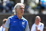 28 August 2016: Duke assistant coach Michael Brady. The Duke University Blue Devils hosted the University of North Carolina Asheville Bulldogs at Koskinen Stadium in Durham, North Carolina in a 2016 NCAA Division I Men's Soccer match. Duke won the game 5-1.
