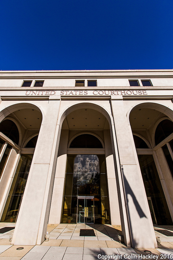 TALLAHASSEE, FLA. 3/13/16-The Tallahassee courthouse of the United States District Court, Northern District of Florida.<br /> <br /> COLIN HACKLEY PHOTO