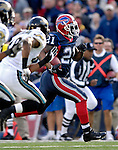 26 November 2006: Buffalo Bills running back Willis McGahee (21) runs for a touchdown against the Jacksonville Jaguars at Ralph Wilson Stadium in Orchard Park, NY. The Bills defeated the Jaguars 27-24. Mandatory Photo Credit: Ed Wolfstein Photo<br />