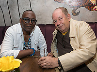 LAS VEGAS, NV - May 12, 2017: ***HOUSE COVERAGE*** Randy Jackson and Robin Leach pictured at Chica Las Vegas Grand Opening at The Venetian Las Vegas in Las Vegas, NV on May 12, 2017. Credit: Erik Kabik Photography/ MediaPunch