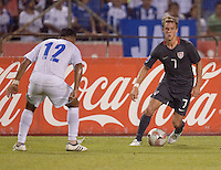 The USA clinches a spot in the  2010 World Cup after defeating Honduras in 3-1 during CONCACAF qualifying in San Pedro Sula, Honduras, October 10, 2009.
