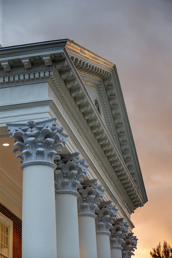 The newly renovated Rotunda at the University of Virginia in Charlottesville, Va. Photo/Andrew Shurtleff