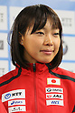 Mariko Adachi (JPN), June, 2012 - Triathlon : Japanese Triathlon  team member ateend press conference about the London 2012 Summer Olympic Games in Tokyo, Japan. (Photo by Yusuke Nakanishi/AFLO SPORT) [1090]