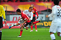 (L to R) Sinji Ono (S-Pulse), Ryota Isomura (Grampus), MARCH 10, 2012 - Football /Soccer : 2012 J.LEAGUE Division 1 ,1st sec match between Nagoya Grampus 1-0 Shimizu S-Pulse at Toyota Stadium, Aichi, Japan. (Photo by Jun Tsukida/AFLO SPORT) [0003]