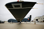 The US Air Force Global Hawk at Beale Air Force Base February 23, 2010 in Linda, Calif.
