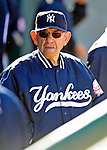 2 March 2009: New York Yankees' Hall of Fame legend Yogi Berra walks the dugout during a Spring Training game against the Houston Astros at Osceola County Stadium in Kissimmee, Florida. The teams played to a 5-5, 9-inning tie. Mandatory Photo Credit: Ed Wolfstein Photo