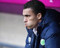 Fussball  1. Bundesliga  Saison 2016/2017  14. Spieltag  FC Bayern Muenchen - VfL Wolfsburg    10.12.2016 Trainer Valerien Ismael (VfL Wolfsburg)