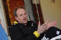 SCHAATSEN: WOLVEGA: 20-01-2016, Van der Valk Hotel, Persbijeenkomsten, trainer/coach Team LottoNL-Jumbo Jac Orie, ©foto Martin de Jong