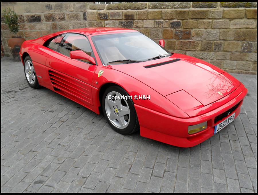 BNPS.co.uk (01202 558833)<br /> Pic: H&amp;H/BNPS<br /> <br /> Ferrari 348 TS estimated at &pound;40,000.<br /> <br /> A stunning sports car owned by David Beckham has emerged in a sale of eleven Ferraris - making a whole football team of motors. <br /> <br /> Golden Balls owned the 360 Spider in the early noughties when he was at the peak of his powers ahead of a big money move to Real Madrid. <br /> <br /> Becks, a renowned car nut, kitted the 2001 motor out with an F1-style gearbox, carbon fibre backed racing seats, tinted windows and custom bodywork.<br /> <br /> The car's combined worth is a whopping &pound;2,200,000.