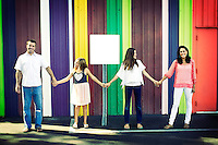 15 September 2013:  Ray, Christina, Taylor and Keira Brown family photo session in Costa Mesa, CA.