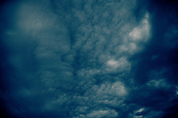 Clouds Over San Francisco Bay - October 28, 2010