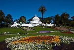 California: San Francisco. Conservatory of Flowers in Golden Gate Park.  Photo copyright Lee Foster. Photo #: 23-casanf83817