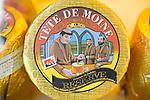Cheese at the farmers' market in the Carouge neighborhood in Geneva, Switzerland, Europe