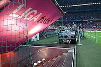 FUSSBALL   1. BUNDESLIGA  SAISON 2012/2013   5. Spieltag FC Bayern Muenchen - VFL Wolfsburg    25.09.2012 Der Kabinenaufgang in der  Allianz Arena
