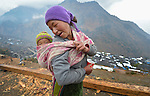 Diki Dolma Tamang and her 9-month old daughter Khushi live in Gatlang, in the Rasuwa District of Nepal.
